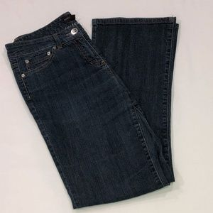Dana Buchman~ Women's dark blue boot cut jeans